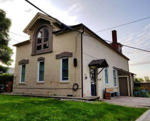 Trowbridge House, Detroit, MI - Brick Stable