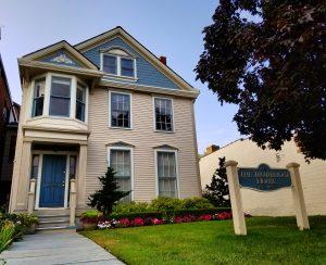 Trowbridge House, Detroit - Front